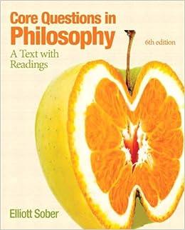 An essay philosophy question?