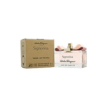 82baab40aa9 Amazon.com : Signorina Salvatore Ferragamo 3. 4 oz EDP Spray (Tester) Women  : Beauty