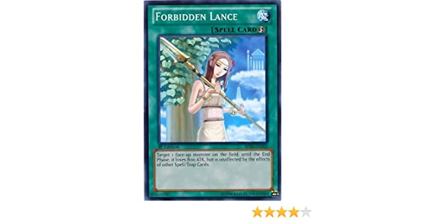 Yugioh Forbidden Lance PGLD-EN048 Gold Rare 1st Edition