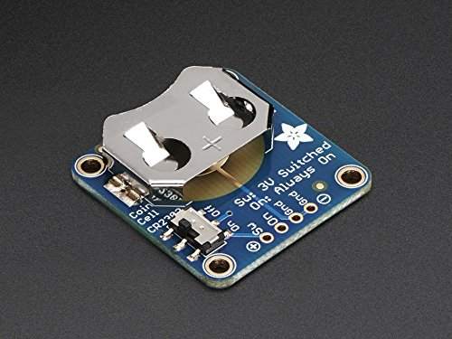 Adafruit 20mm Coin Cell Breakout w/On-Off Switch (CR2032) [ADA1871] Off Switch Board