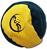 2 panel Hacky Sack (GREEN/YELLOW) - Pro Freestyle 2-panel Footbags AKA Hacky Sacks - Ideal for kicks and catches!