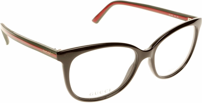 82bb79ff2b Chic Gucci Montura 365051N53 (53 mm) Negro/Rojo - www.cardit.es