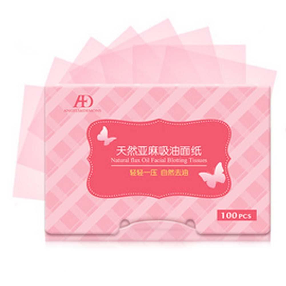 Set of 2 Gentle Men/Women Oil Control Paper Oil Blotting Paper(100 Pcs)