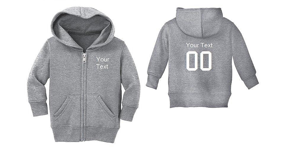 12 Months, Grey Precious Cargo Custom Personalized Baby Zip-Up Jacket