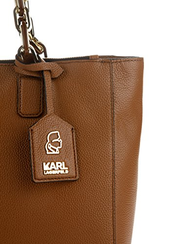 marron Karl porter Sac Lagerfeld à à femme l'épaule marron pour wHBzxnrw46