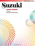 Suzuki Piano School - Volume 1 (New International Edition): Piano Part