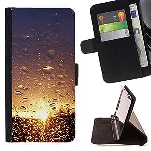 For Apple iPhone 5C,S-type Sunset Beautiful Nature 101- Dibujo PU billetera de cuero Funda Case Caso de la piel de la bolsa protectora