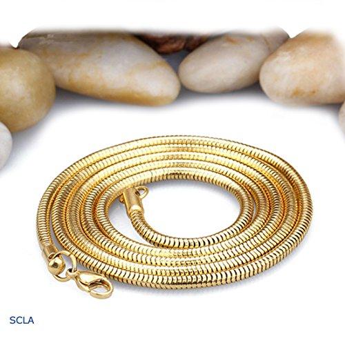 Gold 1 Mm Snake - 3