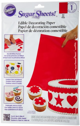 Wilton Sugar Sheet, Red