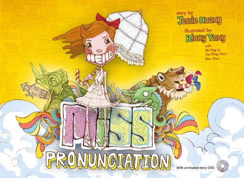 Miss Pronunciation - with animated story DVD (Ying Yang Animated)