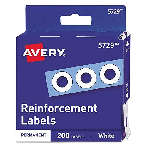05729 Dispenser Pack Hole Reinforcements, 1/4