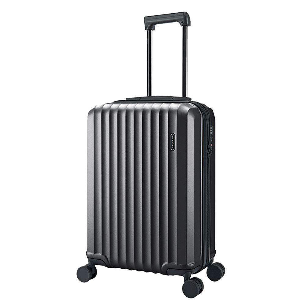 トロリースーツケース男性ユニバーサルホイール20インチのスーツケース小さな新鮮なパスワードのスーツケース女性のボックスグレー36 * 50 * 24CM   B07KR9WFXP