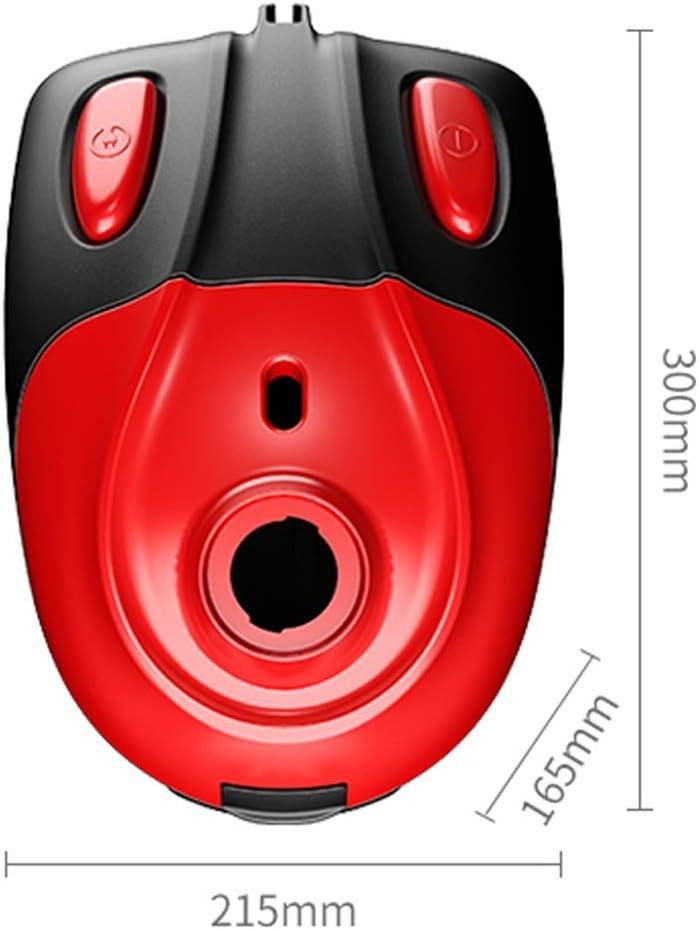 JU FU Aspirateur, domestique rouge horizontal 1000w grande aspiration collecteur de poussière électrique multi-fonction, 21.5x16.5x30cm Outils de nettoyage @@ (Color : Red) Red