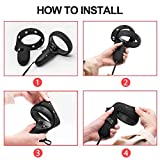 Touch Controller Grip Cover for Oculus Quest/Oculus Rift S, Protective Skin Silicone Controller Protector