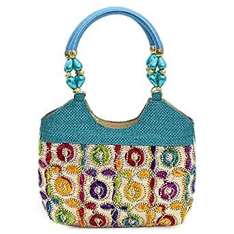Adaa Fashion SSB1 Shoulder Bag for Women - Multi, Multi Color