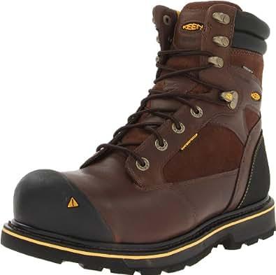 KEEN Utility Men's Sheridan Insulated Comp Toe Work Boot,Cascade Brown, 7 2E US