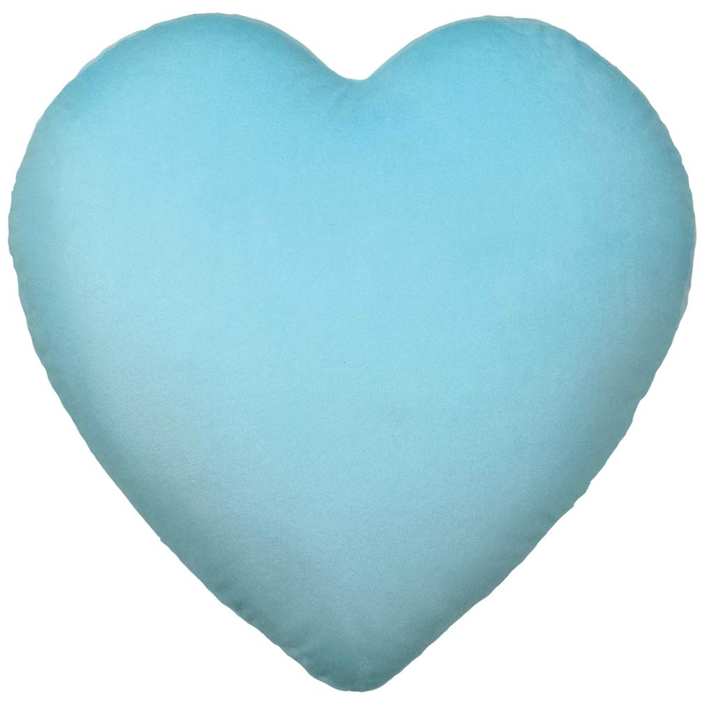 780-818 iscream Vanilla Scented Candy Hearts Embroidered Heart Shaped 16 x 16 Microbead Accent Pillow The Mines Press Inc