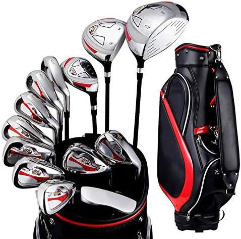 ゴルフクラブ 13ピースメンズ半セットポールエクササイズポール初心者ゴルフクラブセットゴルフパターゴルフクラブ (Color : One color, Size : One size)