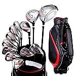 Conveniente-Golf-Putter-Golf-Club-Set-da-Golf-da-Uomo-da-Allenamento-da-Golf-per-Principianti-13-Pezzi-Durevole-Colore-One-Color-Dimensione-Taglia-Unica