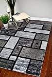 3995 Gray 7'10×10'6 Area Rug Modern Carpet Large New For Sale