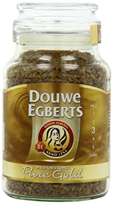Douwe Egberts Pure Gold Instant Coffee, Medium Roast, 7.05-Ounce, 200g (Packaging May Vary) from Douwe Egberts