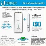 Ubiquiti RP-5AC-GEN2-US 5GHz AC airPrism BaseStation + AMO-5G10 10dBi Omni Antenna (US Version)