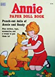 Little Orphan ANNIE PAPER DOLL Book UNCUT w Punch Out Annie & Sandy Dolls (1982)