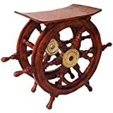 Ship Wheel Table - 24 in.