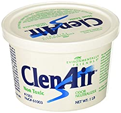 ClenAir Odor Neutralizing Air Freshener, Unscented, 1lb Gel Tub