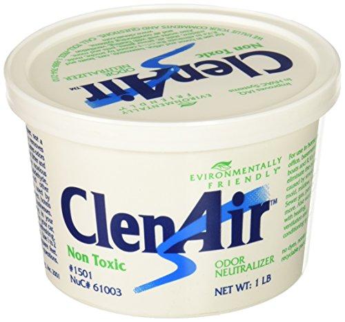 (ClenAir Odor Neutralizing Air Freshener, Unscented, 1lb Gel Tub)