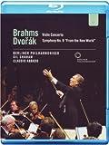 Violin Concerto / Symphony No 9 [Blu-ray]