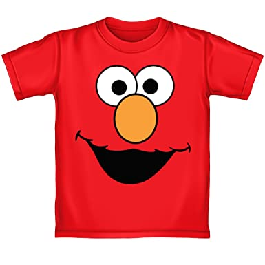 ae0512c9 Elmo Face Youth Tee Shirt (Extra Small 4/5). Roll over image to zoom in. Sesame  Street