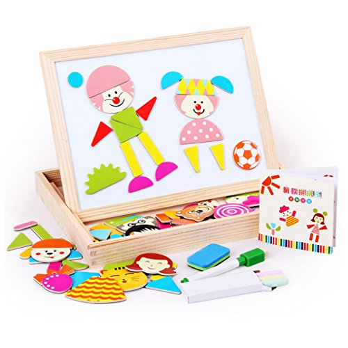 Little star Educational Wooden Magnetic Puzzle Toys for Chil