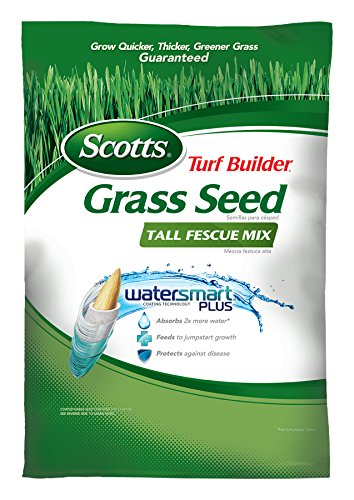 Scotts Turf Builder Grass Seed - Tall Fescue Mix, 40-Pound