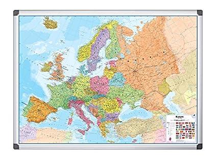 Cartina Europa 900.Bi Office Map0100402 Cartina Europa Magnetica 1200 X 900