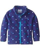 Columbia  Girls'  Benton Springs Printed Fleece Jacket
