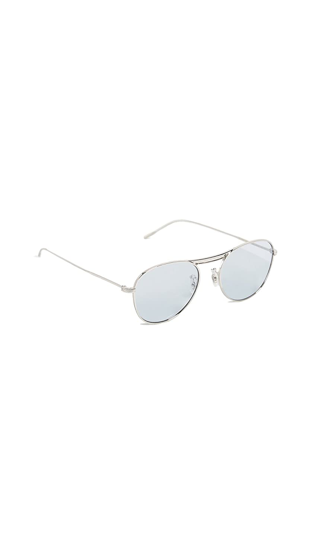0cbdc31be1 Oliver Peoples Sunglasses 1226 CADE 503672 Silver Blue Wash 52 18 145 NEW   Amazon.fr  Vêtements et accessoires