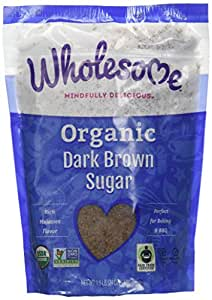 Wholesome! - Organic Dark Brown Sugar 1.5 Lbs.