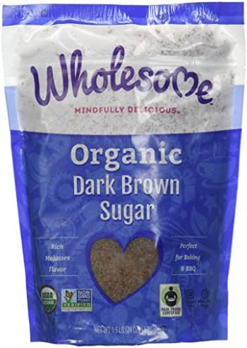 Sugar & Sweetener: Wholesome Organic Dark Brown Sugar