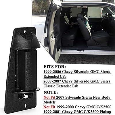 Extended Cab Door Handle Compatible for Chevy Silverado, YITAMOTOR Exterior Passenger Right Side Rear Door Handle for 1999-2006 Chevy Silverado, GMC Sierra: Automotive