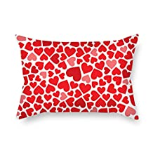 Love Cushion Covers 16 X 24 Inches / 40 By 60 Cm For Family Study Room Festival Her Monther Family With Two Sides