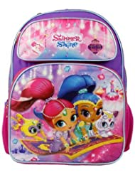 Nickelodeon Shimmer And Shine 16 Large School Backpack