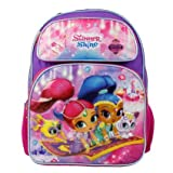 """Nickelodeon Shimmer And Shine 16"""" Large School Backpack"""