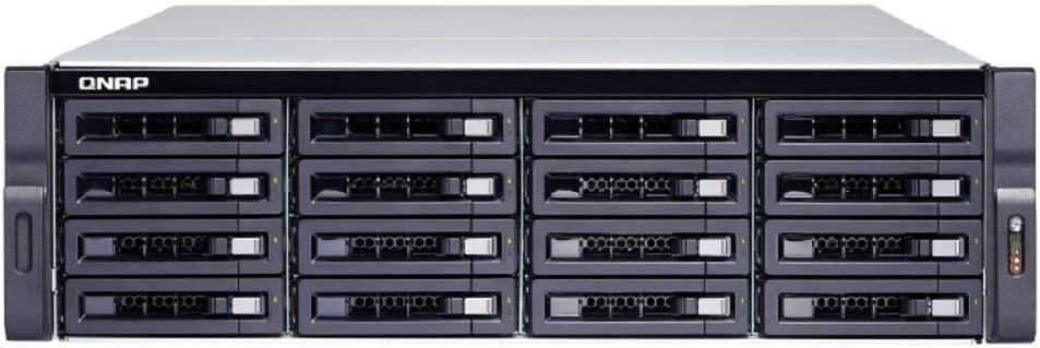 QNAP TS-1683XU-RP-E2124-16G - Servidor NAS (16 bahías, TS-1683XU-RP-E2124-16G, TS-1683XU-RP-E2124-16G)