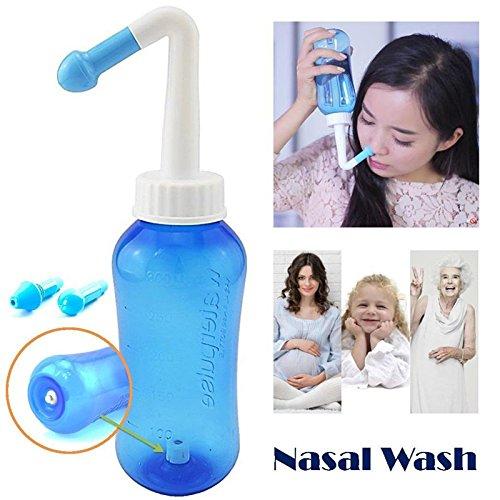 Amazon.com: Lavado nasal, limpiador nasal Smallmao, enjuague ...