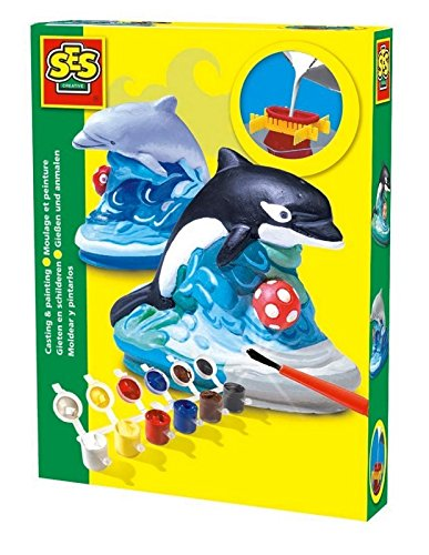 SES Creative Dolphin Plaster Casting and Painting Kit The Sales Partnership Distributors Ltd SES01274
