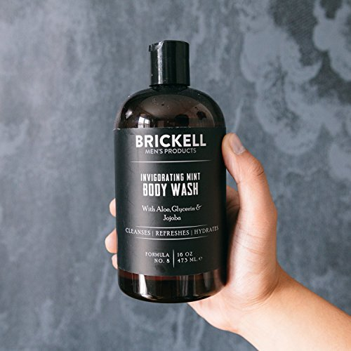 Brickell Men's Invigorating Mint Body Wash for Men – 16 oz – Natural & Organic by Brickell Men's Products (Image #6)