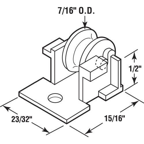 NATIONAL//SPECTRUM BRANDS HHI N188-005 Vinyl Coated Storage Screw Hook