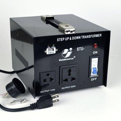 Goldsource STU-1000 Step Up/Down Voltage Transformer Converter - AC 110/220 V - 1000 Watt