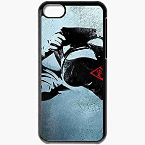 Personalized iPhone 5C Cell phone Case/Cover Skin A Aeon Flux 3212 Black